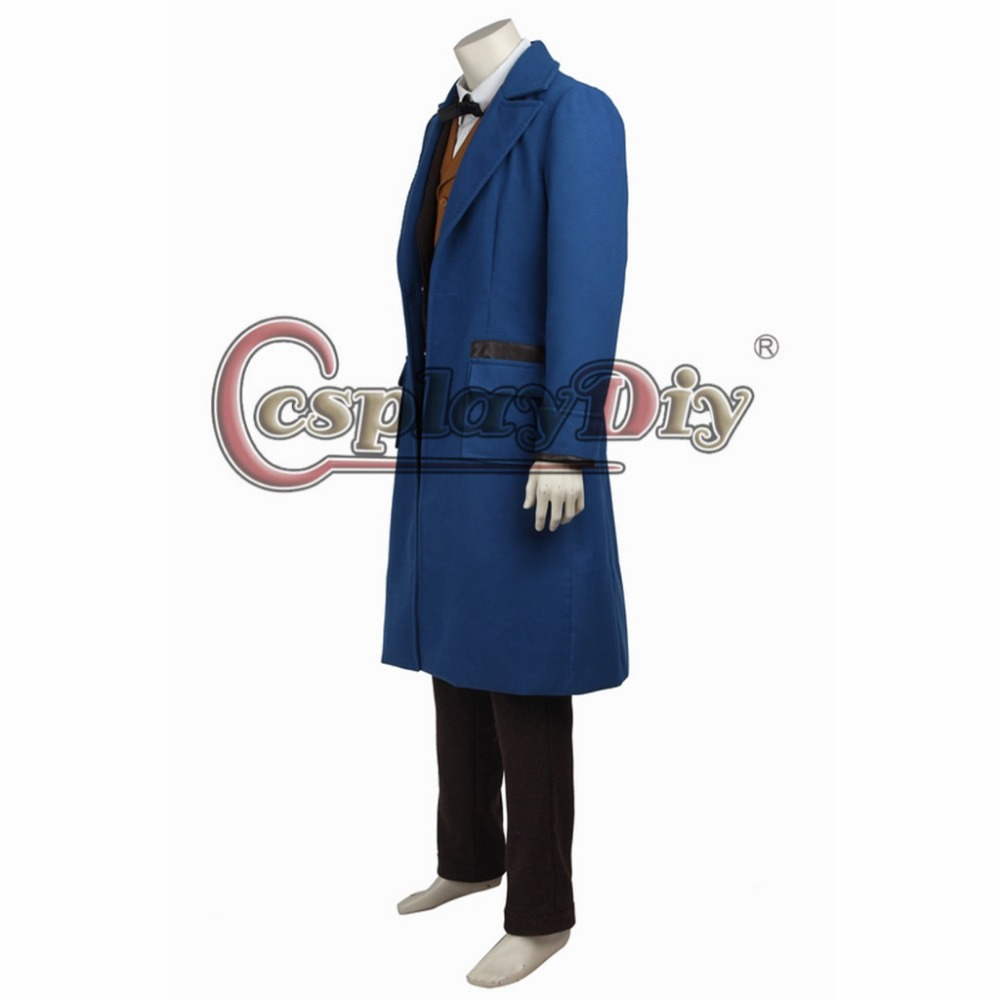 Fantastic Beasts  Newt Scamander Cosplay Costume Custom Made Halloween Outfit