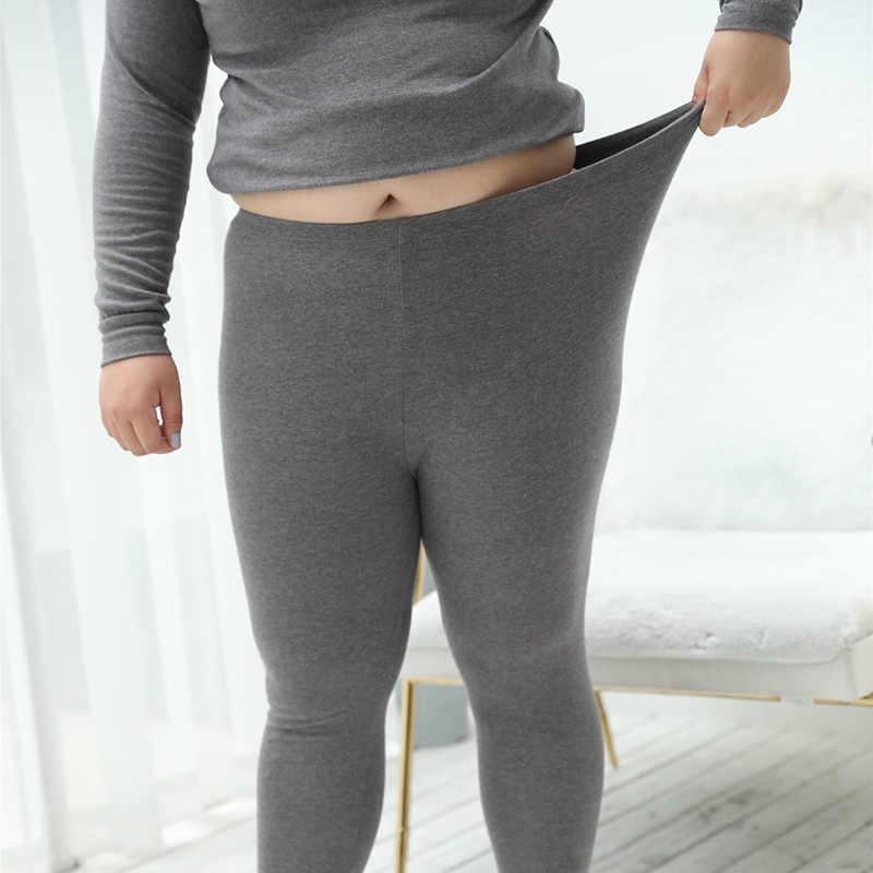 8e2d62e644a3 ... UIECOE Plus Size Thermal Underwear for Women Cotton Long Johns Set Ultra -Soft Base Layer ...