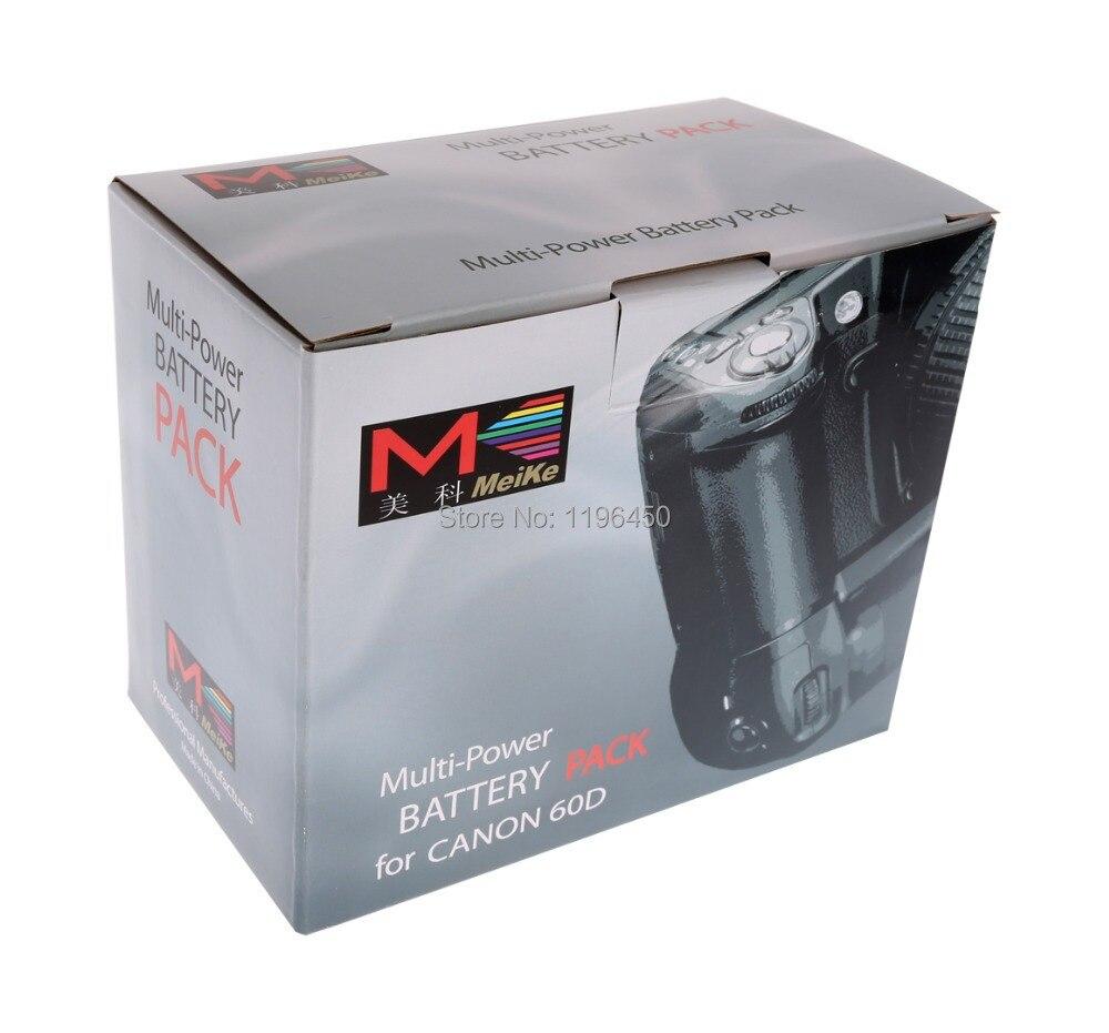MEKE Meike MK 60D Vertical Battery Grip Holder for Canon 60d