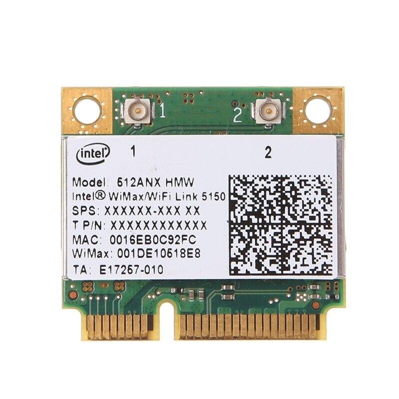 For Intel 512ANX HMW Wireless WiMax/WiFi Link 5150 Half Mini PCI-E Wifi Card