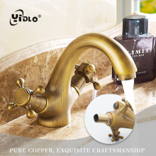цены YiDLon water mixer tap basin sink faucet bathroom sink tap mixer bathroom faucet antique brass faucet toilet basin mixer C23