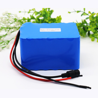 KLUOSI 12V Battery High Power 3S10P 11.1V12.6V25Ah Lithium Ion Battery Pack with 60A Balance BMS for Inverter /Sightseeing Car