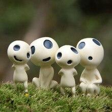 (4 pieces/ lot)Hayao Miyazakis Princess Mononoke tree elves perspective fridge magnet