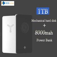 HDD 2,5 внешний жесткий диск Тип usb C 3,0 500 ГБ 1 ТБ 2 ТБ с 8000 mah mobile power bank диск твердотельный