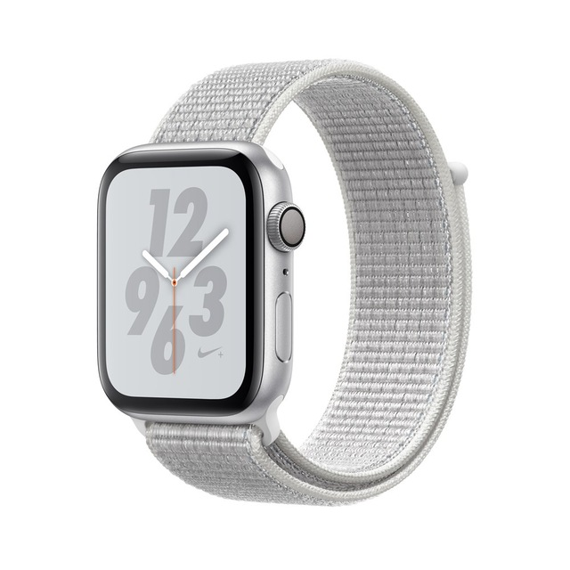 Apple Watch Nike+ Series 4, OLED, Touchscreen, GPS (satellite), 18 h, 36.7 g, SilverApple Watch Nike+ Series 4, OLED, Touchscreen, GPS (satellite), 18 h, 36.7 g, Silver