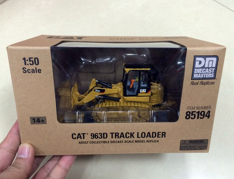 *NEW* Caterpillar Cat 963D Track Loader 1/50 Scale DieCast 85194 By DM Model