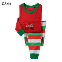 Boys Girls Clothing Set Sets Cartoon Christmas Santa Claus hoody shirt pants two pieces Autumn Winter Size for 2 3 4 5 6 7 years
