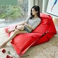 Cadeira do saco de feijão sofás beanbag sofá mobília da sala de estar moderna para sala de estar sofás de lazer moda saco de feijão vermelho