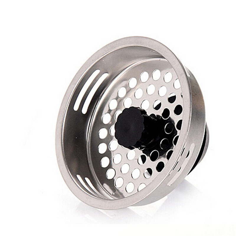 new home kitchen sink drain strainer stainless steel mesh basket strainer metal filter for kitchen bar - Kitchen Sink Drain