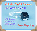 Factory selling, Color CMOS Car Rear View Reverse back up parking Camera for Nissan NV200