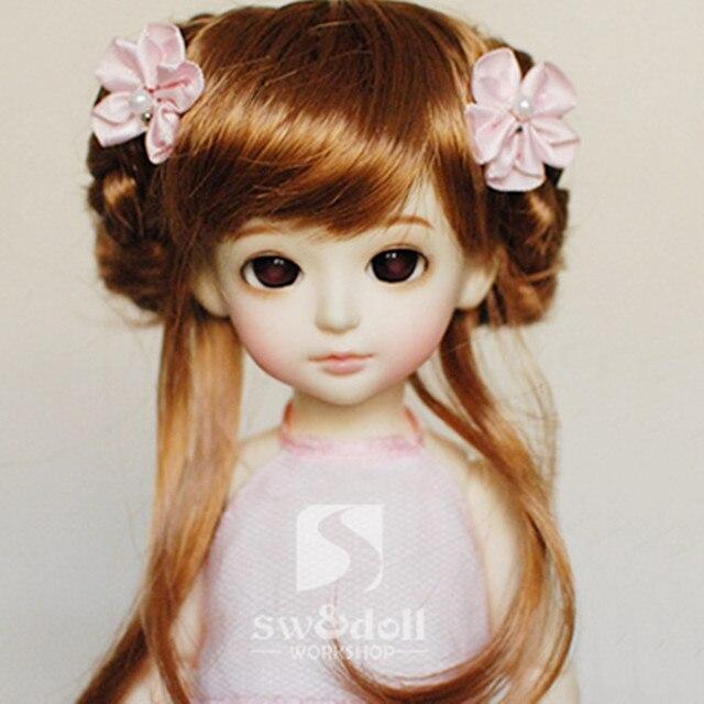 """1/6 BJD doll hair wig - yosd 6""""-7"""""""