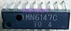 Frete grátis 4 pçs/lote em estoque DIP-18 MN6147C MN6147