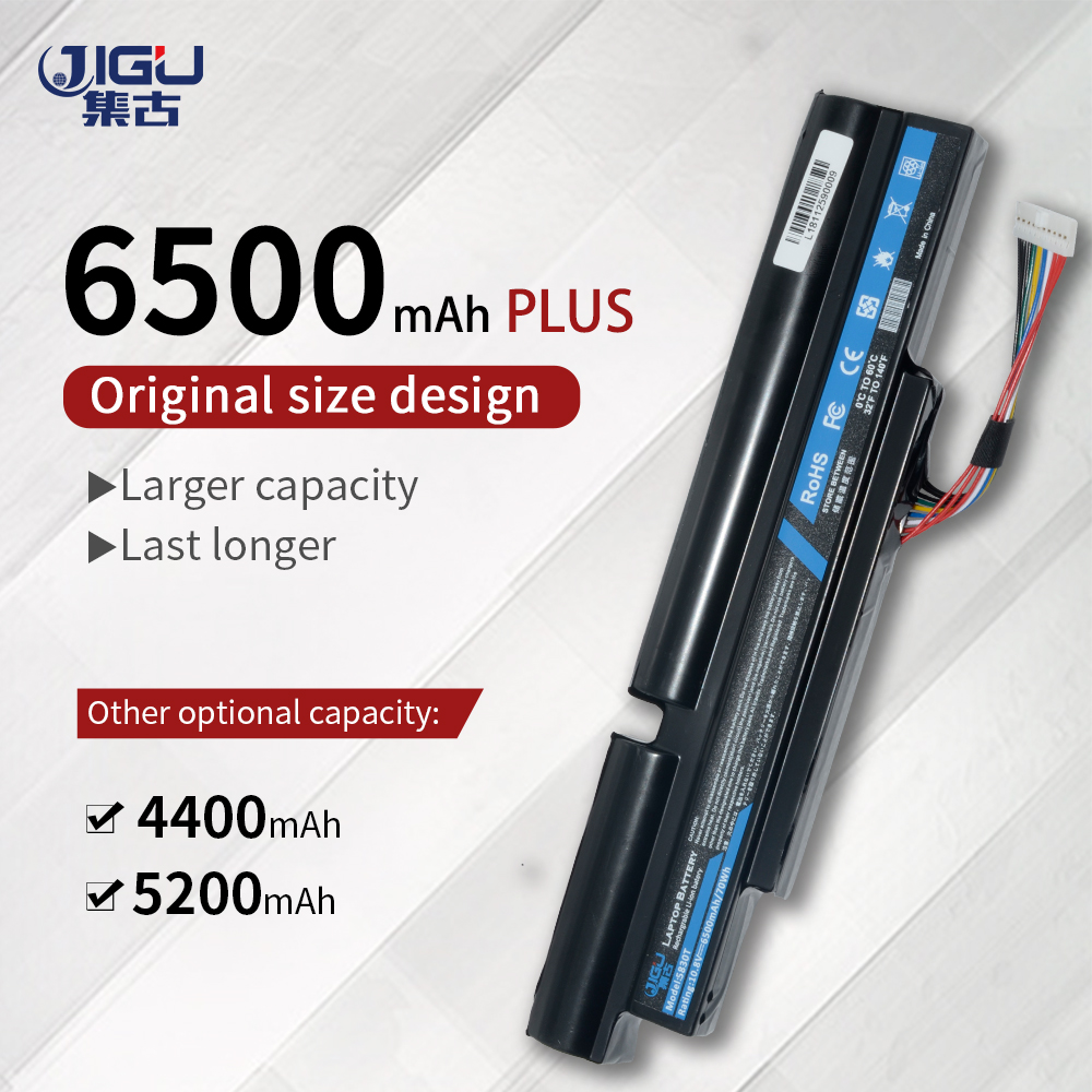 JIGU New 6Cells Laptop Battery For <font><b>Acer</b></font> Aspire TimelineX <font><b>4830TG</b></font> 5830T 3830TG 4830T 5830TG 3830T 3INR18/65-2 AS11A3E AS11A5E image