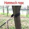 Professional Outdoor Extended Parachute Hammock Bandage Storage Bag Wearable Adjustable Black Nylon Webbing Rope Free Shipping