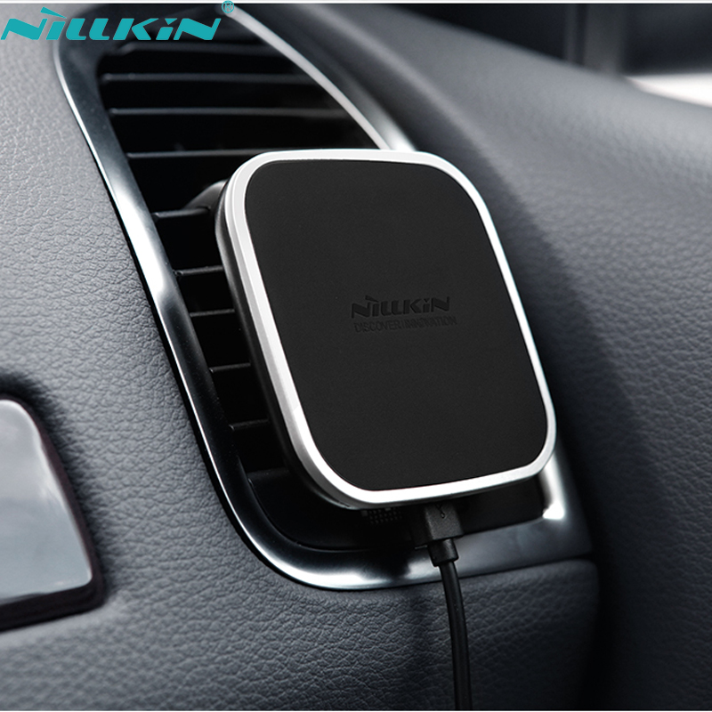 Magnetic car holder wireless charger 11
