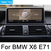 For BMW X6 E71 2011~2013 CIC Car Radio GPS Android multimedia Player Navigation AUX Stereo HD touch screen original style все цены