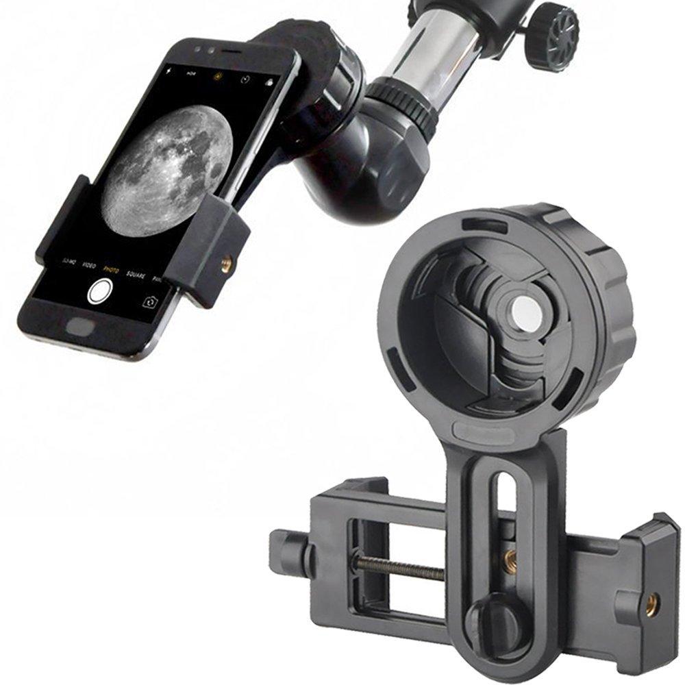 Téléphone Rapide Photographie Stand Mount Adapter Connecteur pour Télescope Jumelles Monoculaire Microscope pour iPhone Samsung