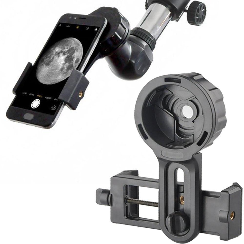 Telefono Rapida Photography Basamento Adattatore di Montaggio Connettore per Binocolo Telescopio Monoculare Spotting Microscopio per iPhone Samsung