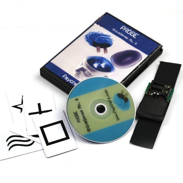 Haute Qualité Sonde RhineSense Mk. 4 (ESP Carte Version + DVD), Carte Magique, Gimmick, Accessoires Mentalisme, Tour De Magie, jouets Classiques
