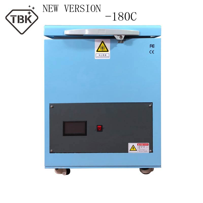 TBK Newest 180C LCD Touch Screen Freezing Separating Machine LCD Frozen Separator Machine for iPhone Sumsung edge RU free tax