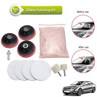 Different 11PCS 3 Pad 230g Cerium Oxide Windscreen Scratch Remover Glass Polishing Kit