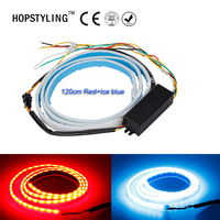 1pcs Lot 120CM New Auto Car Tailgate Turning Signal Light Bar RGB LED Strip Trunk Light