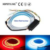 1pcs Lot 120CM New Auto Car Tailgate Turning Signal Light Bar RGB LED Strip Trunk Light