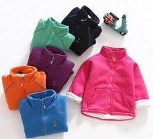 Creek children wear 2016 spring new girls big virgin thin cashmere fashion windproof rain jacket waist coat