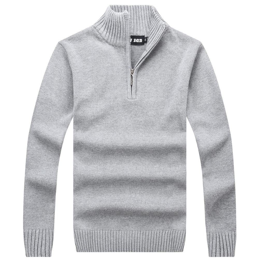 2017 Men's Sweaters Thick Warm Winter Pullover men Cashmere Wool Sweaters Man Casual Knitwear Fleece Velvet Clothing Big Size
