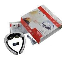 電気バックネックマッサージインパルス頚椎処置具鍼磁気治療首枕マッサー