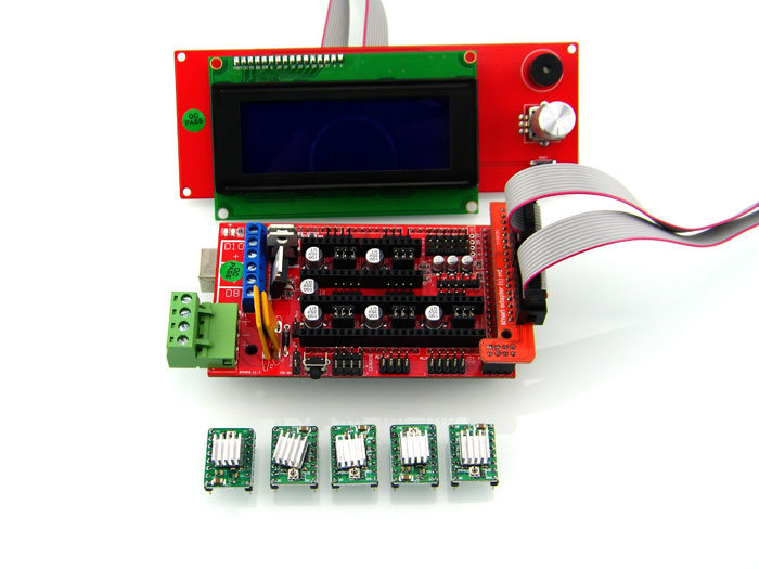 HIC 3D Printer Parts 3D Printer LCD Screen Kit Set for Sale