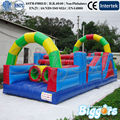 FREE SHIPPING BY SEA Hot Selling Inflatable Obstacle Course Adult Inflatable Jumping House With Air Blower