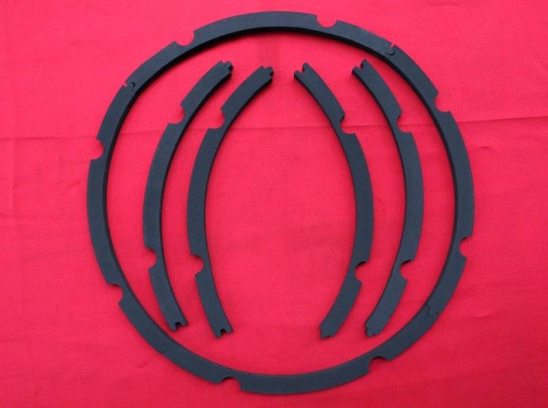 """2 комплекта 12 дюймов 1"""" заменить низкочастотный динамик с басами громкоговоритель кольцо из вспененного материала для динамика прокладки"""
