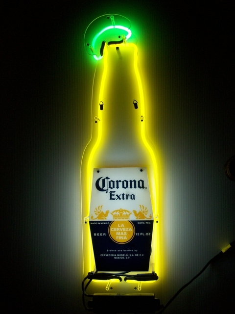 Corona light Glass Neon Light Sign