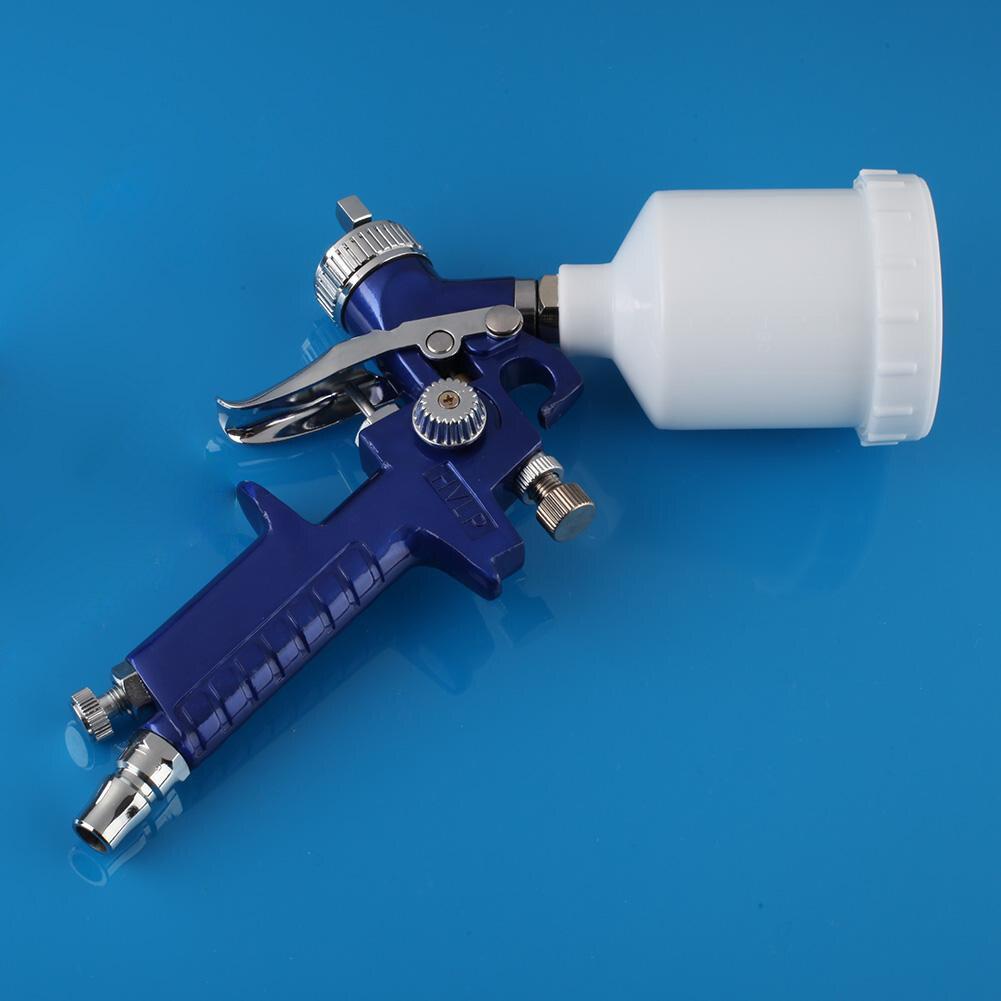 0.8MM / 1.0mm 150ml Nozzle H-2000 Professional HVLP Spray Gun Mini Air Paint Spray Guns Airbrush For Painting Car Aerograph