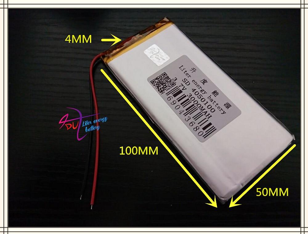 Stromquelle Digital Batterien KöStlich 1 Pcs 3850 100 4050 100 Mp4 Batterie Nicht Eine Mp5 4,0*50*100 Batterie 3000 Mah Tablet Batterie Bequem Und Einfach Zu Tragen