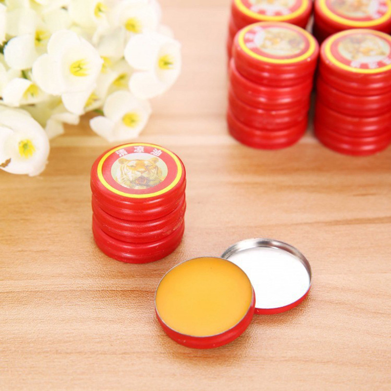 1pcs Relief Headache Essential Oil Massage To Relieve Headaches Tiger Head Menthol Balm Refreshing Asterisk Dropship