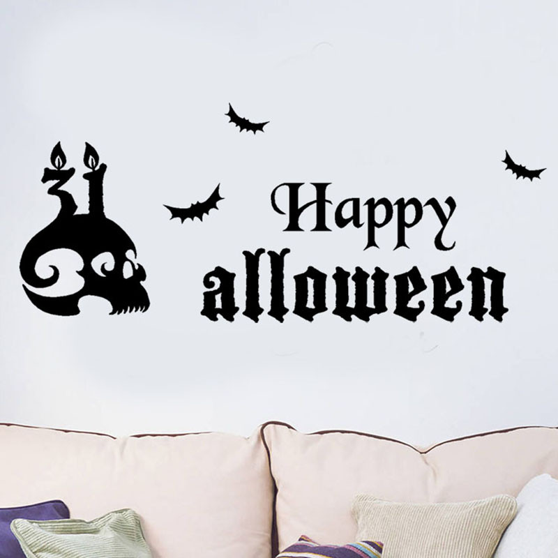 wall stickers for kids rooms halloween decorations and props pegatinas 3d para halloween
