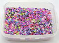 5000 Mixed Color forrado interior Glass Seed Beads 2mm (10/0) + Caja De Almacenamiento