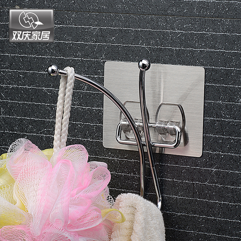 Magic Flexible Sticker Wall Door Magic Metal Butterfly Hat And Coat Hook Hanger Bedroom Rack Houseware For Hotel Home Improvement