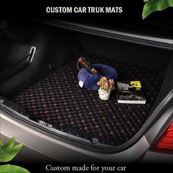 Car Trunk Mats for audi a4 b5 avant land rover discovery 3 lexus es ford ecosport 2018 lifan x50 Custom Cargo Liner Boot Carpet