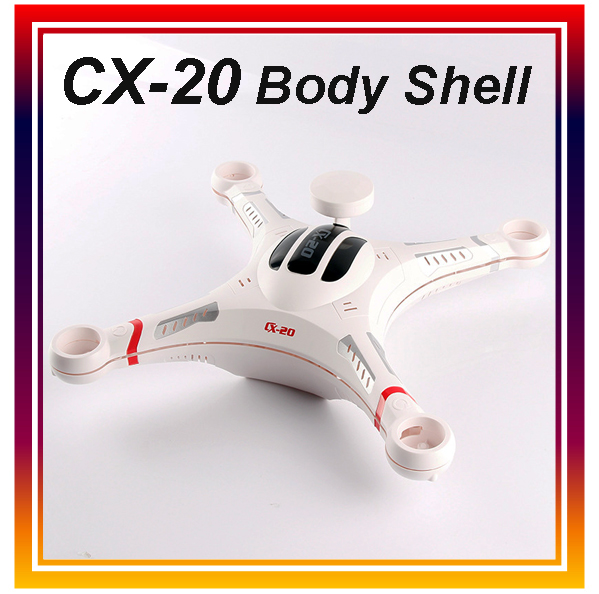 Dwi Dowellin Original Cheerson CX 20 RC font b Drone b font Body Shell Cover RC