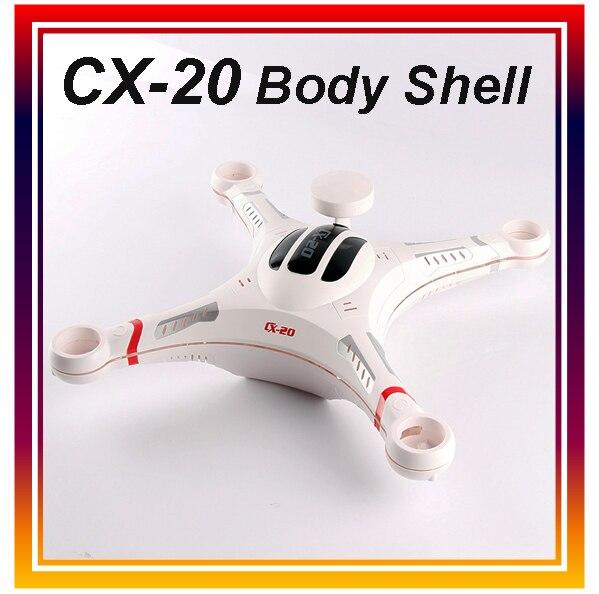 Dwi Dowellin Original Cheerson CX 20 RC font b Drone b font Body Shell Cover RC