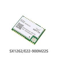 SX1262 LoRa TCXO беспроводной приемопередатчик E22-900M22S SPI 868MHz SMD 915MHz SMD ebyte передатчик приемник РЧ модуль большой дальности