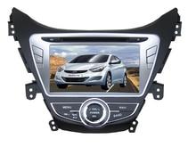 Android 6.0 Jefe unidad de coches reproductor de dvd para Hyundai Elantra Avante I35 2011-2013 gps BT de radio grabadora estéreo sistemas libera el mapa