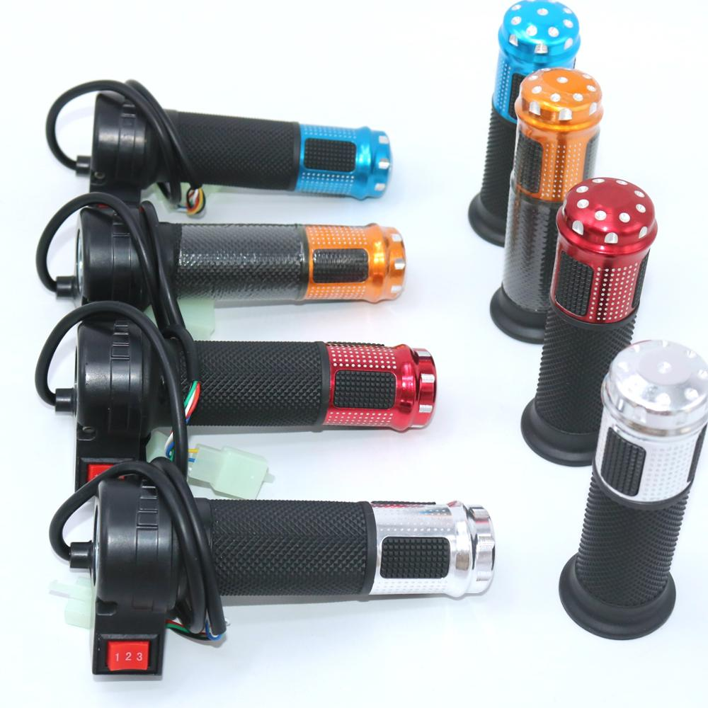 EVfitting New Style  Gas Handle Electric Bicycle Throttle With 3 Speed Switch