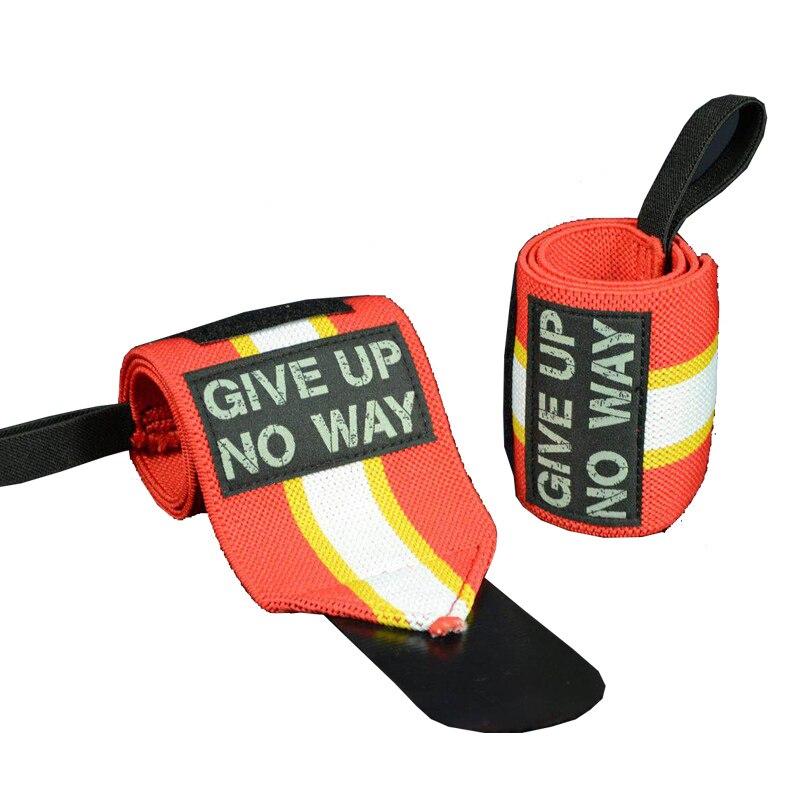 MYBORON High Quality Cotton Wristband Gym Safety Powerlifting Wrist Band Elastic Comfortable Wrist Brace Support for