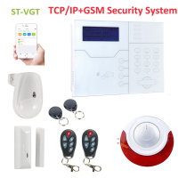 Focus ST VGT 32 wireless zones security system network alarm gsm security system stable quality APP control internal alarm|Alarm System Kits| |  -