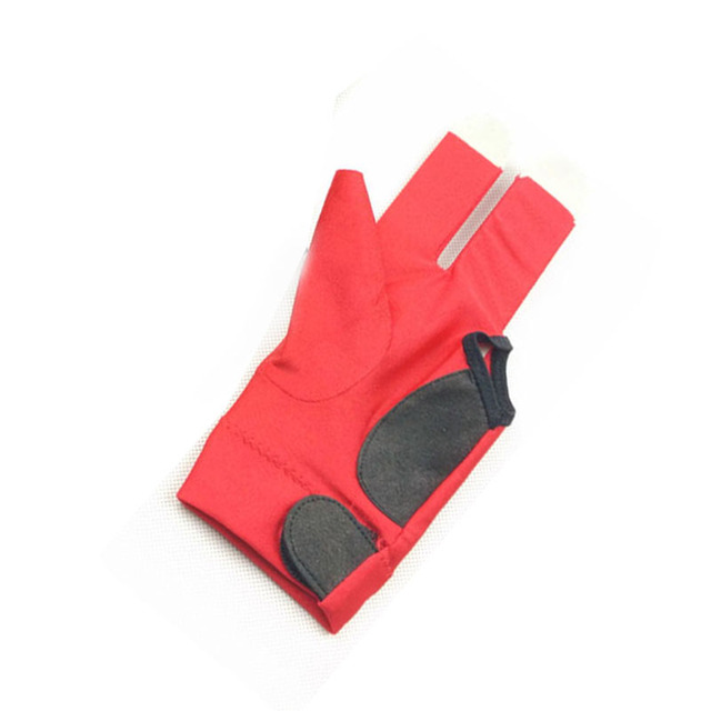 free shipping 2pcs/lot High elastic fabric Billiards Pool Gloves Half-finger snooker cue gloves left-hand Billiards accessories 5
