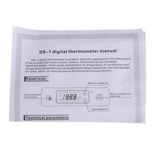 Car Digital Thermometer with Two Probes